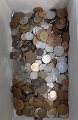 Selection of coins - large amount