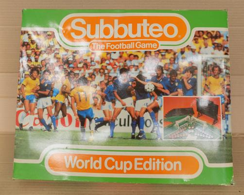 World Cup subbuteo - complete with paperwork