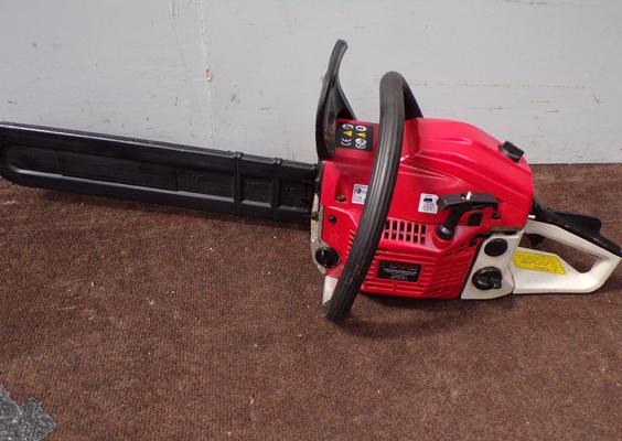 Eckman petrol chainsaw VGC - good W/O - only used 3 times - surplus to requirements