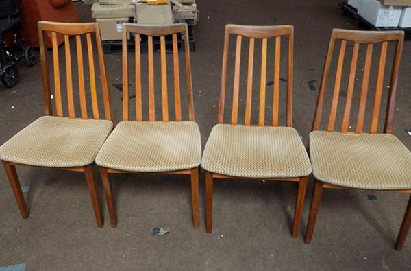 4 G-Plan chairs
