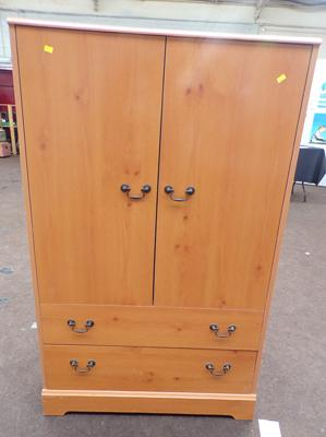 Child's wardrobe, very good condition, 50 inches tall