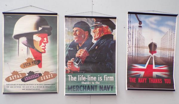3 Army/Navy advertising posters