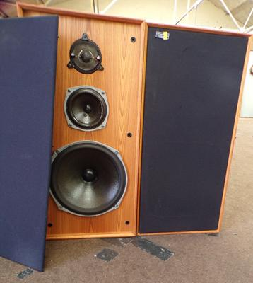 Pair of Celestion Ditton 44, vintage 1970's speakers - full W/O