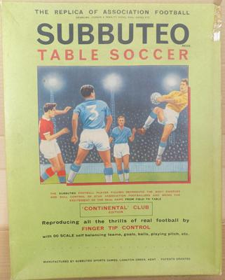 Subbuteo continental club edition - complete with paperwork