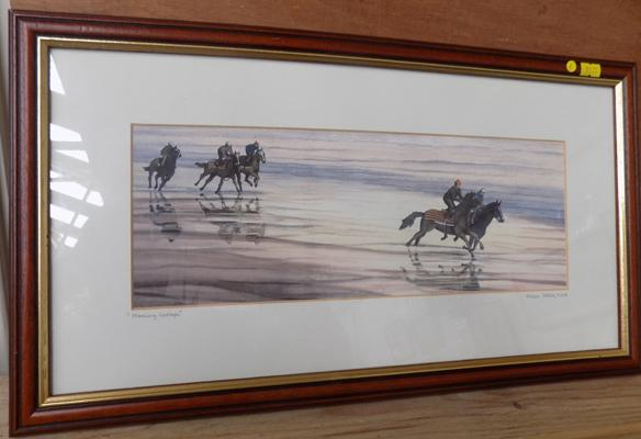 Limited edition print 36/250 Derek Firth-'Morning Gallop'