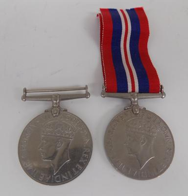 2x WWII medals