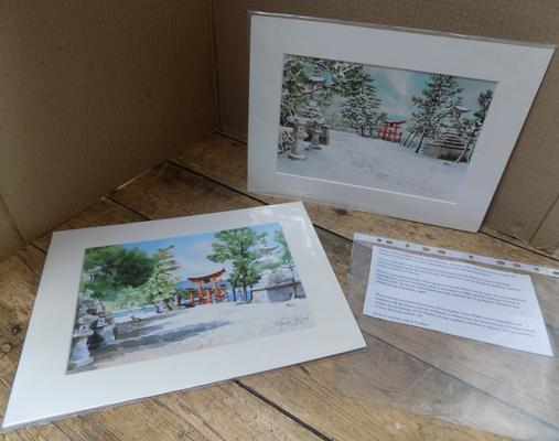 2 signed Limited Edition signed prints by Matthew Phinn