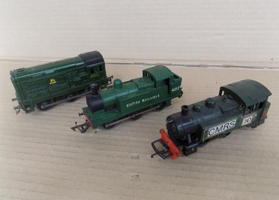 3x green engines