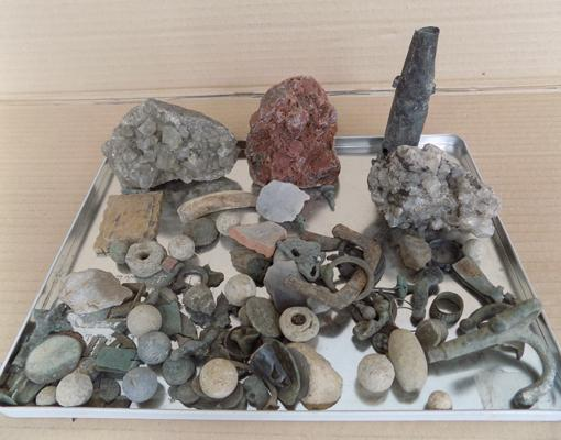 Selection of dig finds