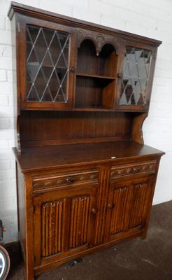 Solid oak 'Old charm' style dresser