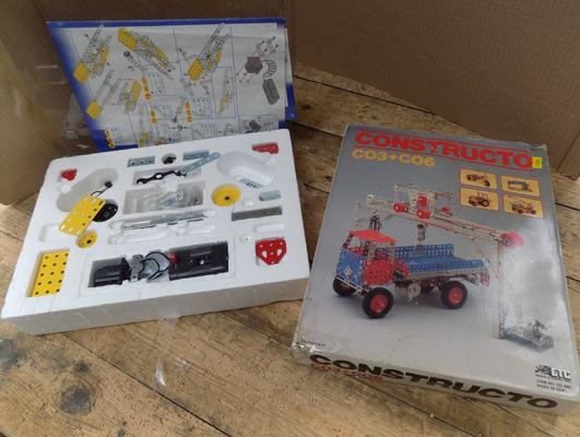 Two boxes of Meccano