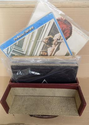 Box of collectable albums