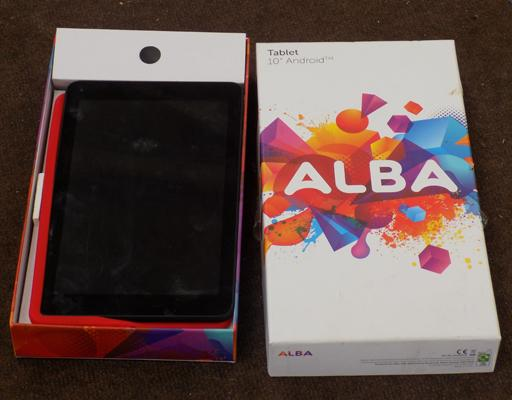 Alba 10 inch tablet android