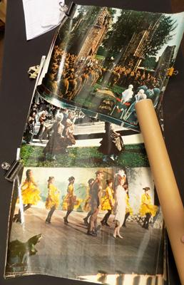 Large lobby cards - rolled - 'Oh What a Lovely War'