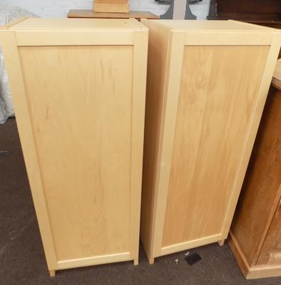 Two storage cupboards