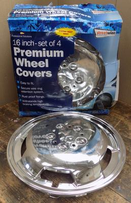 Set of 4 wheel trims - 16 inches