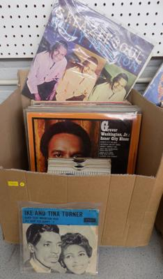 Box of Soul, Funk, Motown, Disco and Hip-Hop records