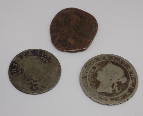 Old coins incl. silver and byzantine