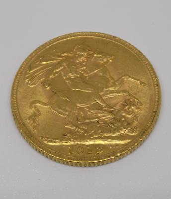 1913 gold Sovereign