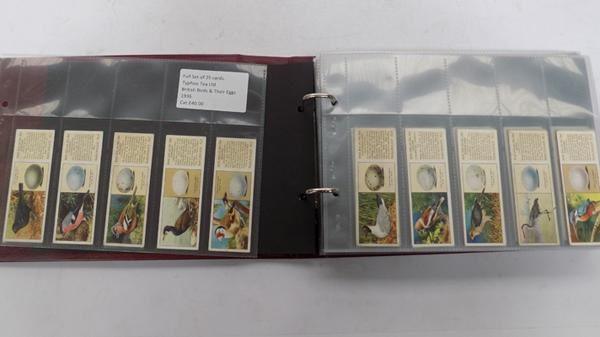 9x Full sets of cigarette cards