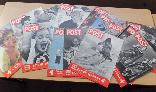 17 picture post magazines 1946/1952/1953