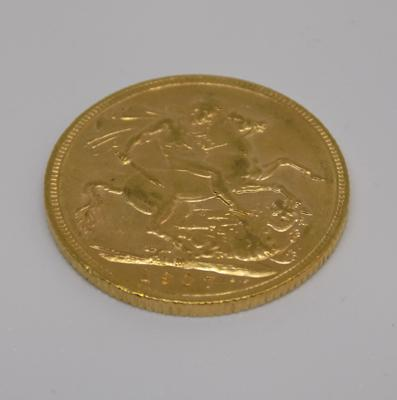 1907 gold Sovereign
