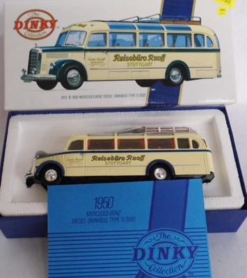 Dinky boxed 1950 Mercedes Benz, diesel bus type D - Ltd. Edition