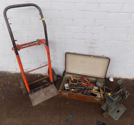 Selection of tools and sack cart - Workmaster