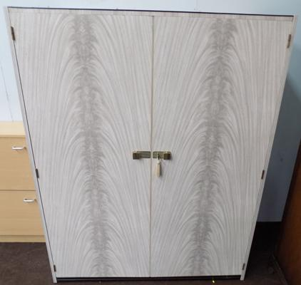 Retro double door wardrobe