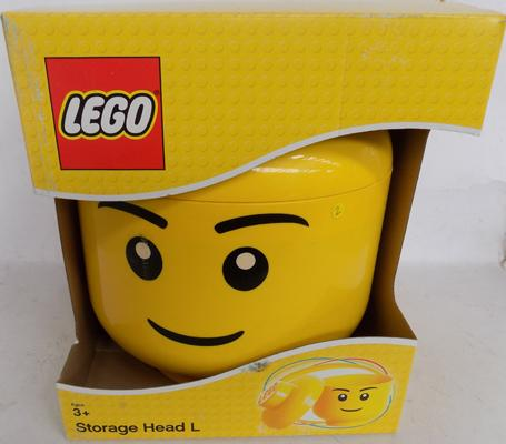 New Lego storage head - large size