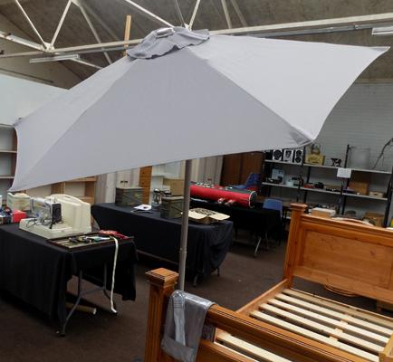 Brand new, tilt top, 1.8m parasol