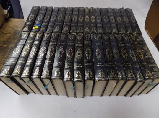 Collection of 32 bound books - classics