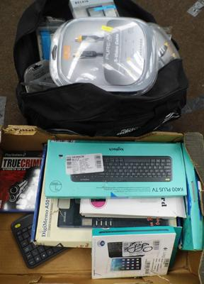 Joblot of computer accessories