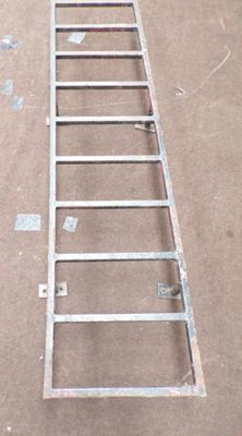 Ladder for van back door - 6ft in length