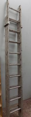 Double aluminium ladder