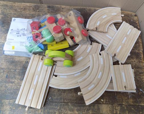 Playtive Junior wooden track