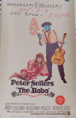 The Bobo - original film poster (67/247)