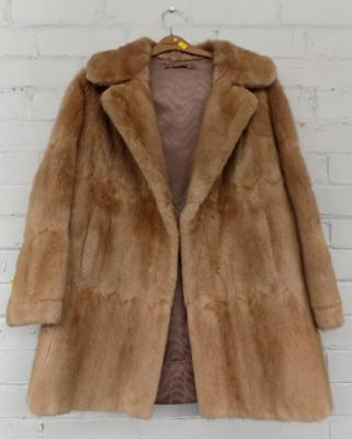 Ladies vintage fur coat