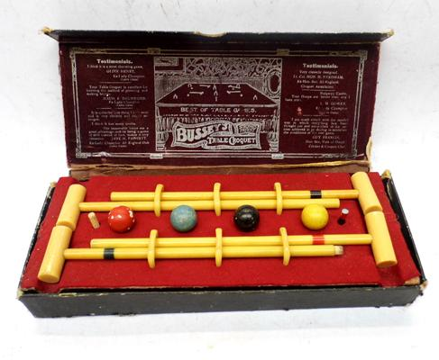 Antique table croquet