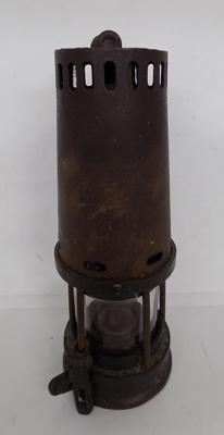 Antique Thomas Williams miners lamp