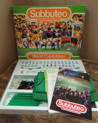 Subbuteo World Cup edition football-complete