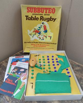 Subbuteo International edition table rugby-complete