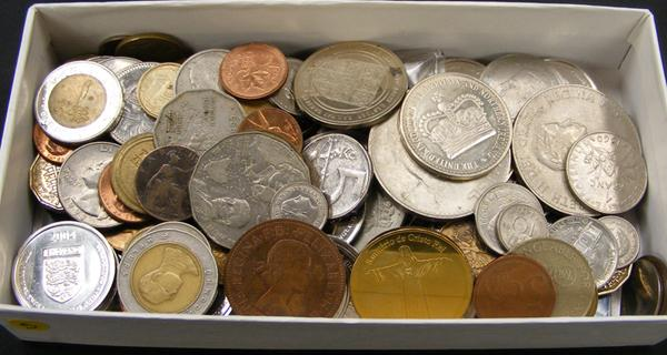 Collection of collectable coins
