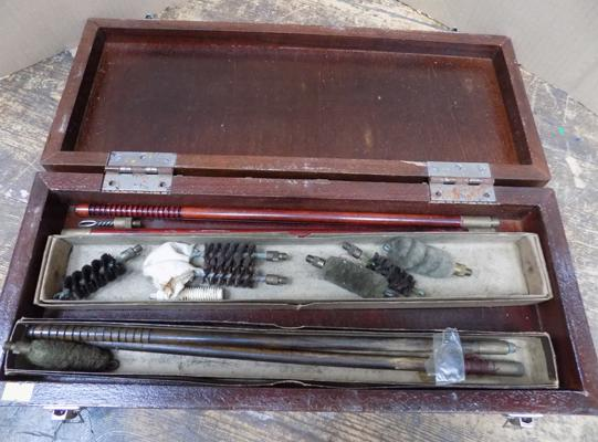 12 bore shot gun cleaning set