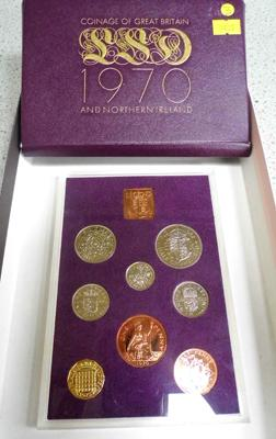 Royal mint coin year set 1970