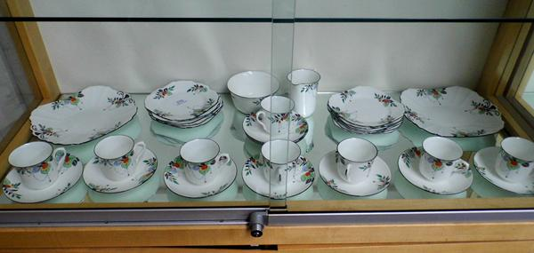 Part Shelley tea set