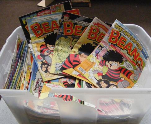 Box of Beano comics