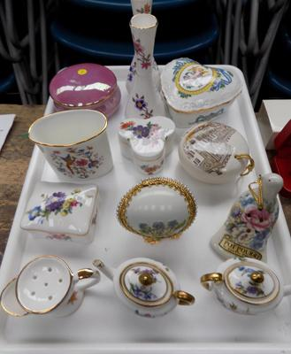 Collection of Hammersley, incl. Pot Pourri & trinket boxes
