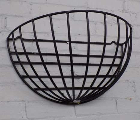 Wall mounted hay basket/planter