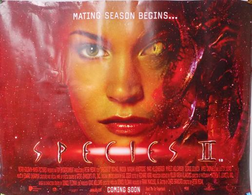 Species 2 movie poster